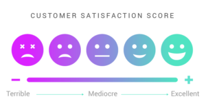 customer satisfaction score with conversational guidance
