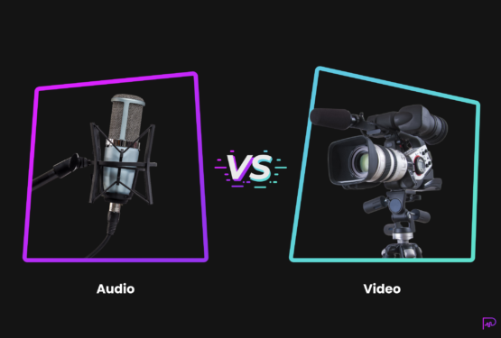 audio versus video marketing